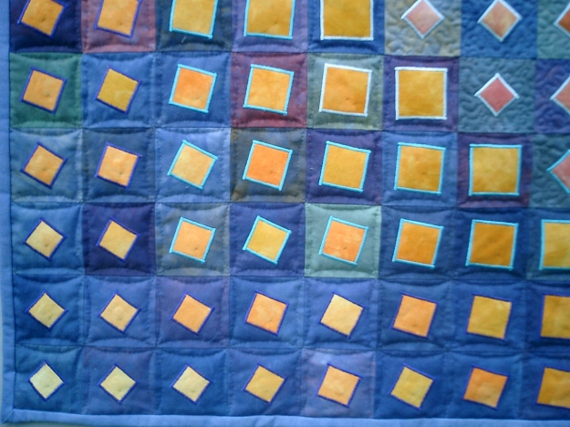 On Point a quilt made by Sue Hagley