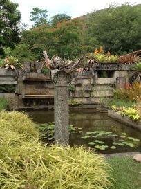 Part of the garden of Roberto Burle Marx