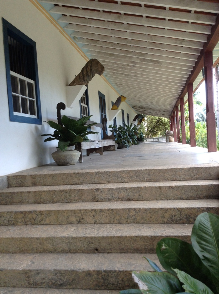 The house and garden of Roberto Burle Marx