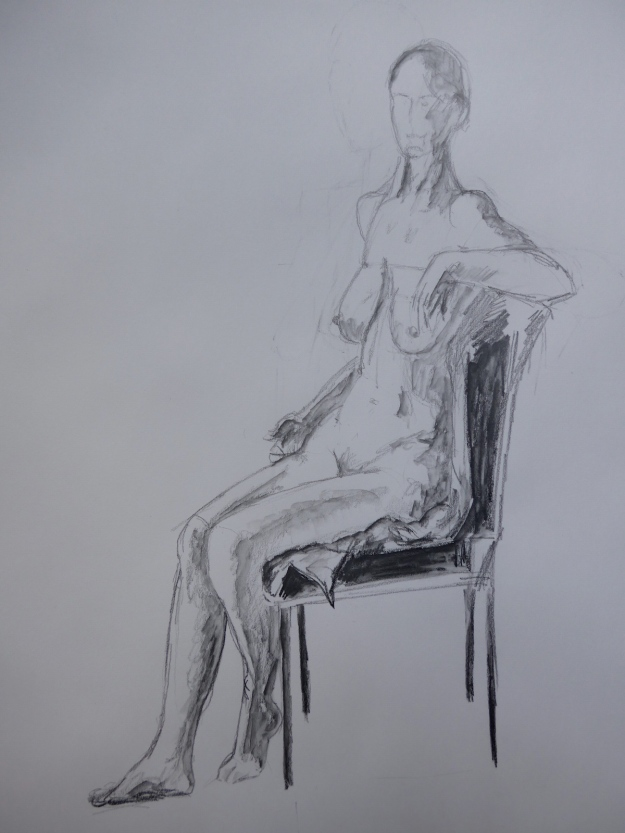 16-365 Seated woman
