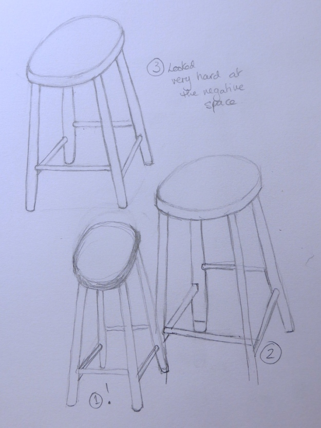 30 - Wobbly stool