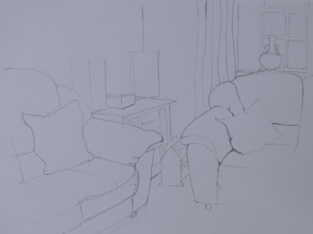 43/365 Corner of the Sitting Room