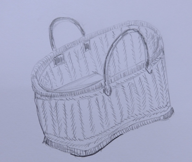 45/365 Knitting Basket