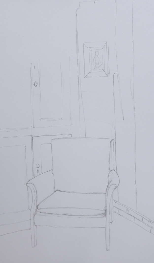 52/365 Armchair (in very dodgy corner!)