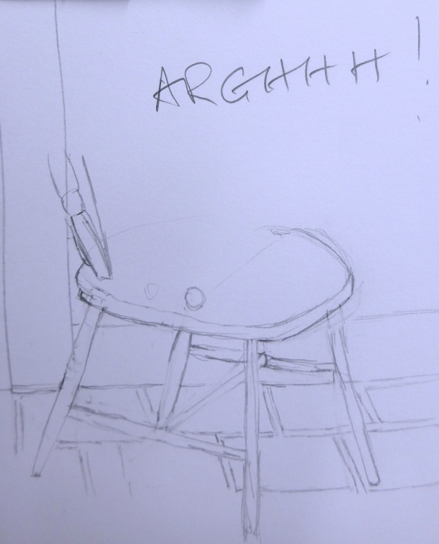 59/365 Arghh chair