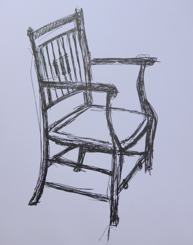 60/365 Scribbly chair