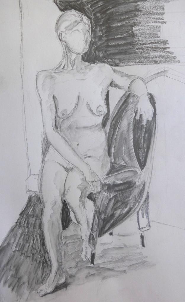 65-1/365 Life Drawing 1