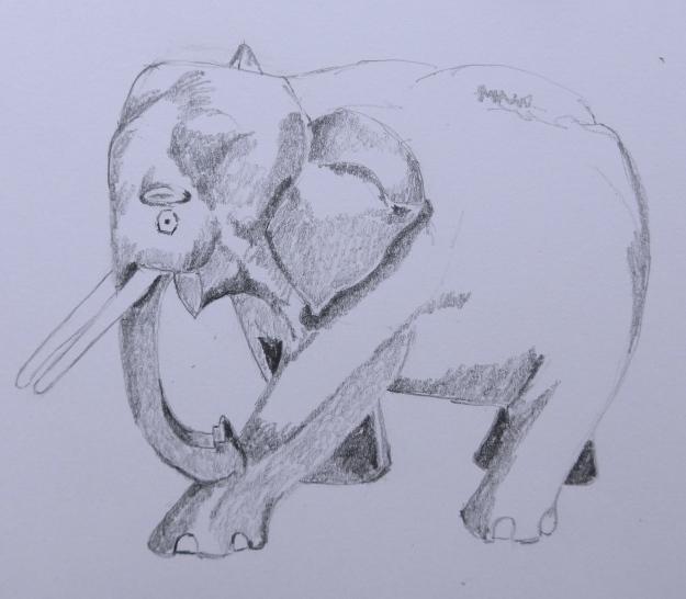 70/365  Wooden Elephant