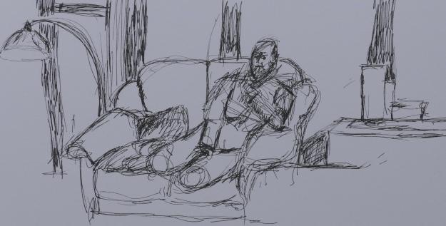 101 Man Sitting