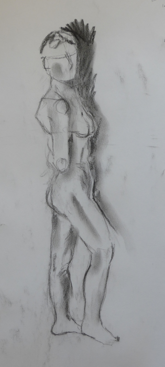 110-2 Standing woman