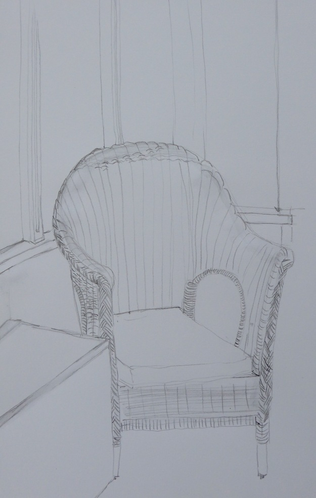 145 Rattan Chair