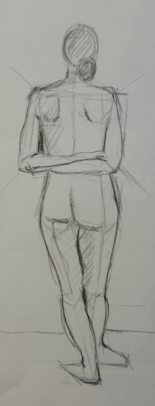 131-1 Standing woman