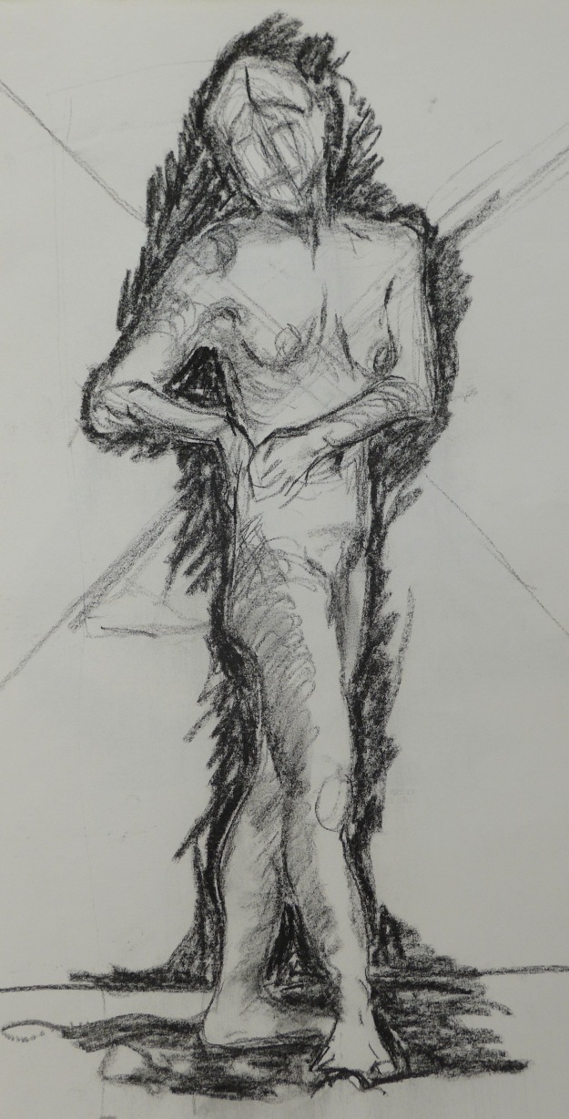 131-2 Standing woman