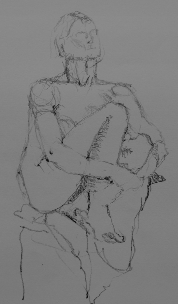 180 Left handed life drawing