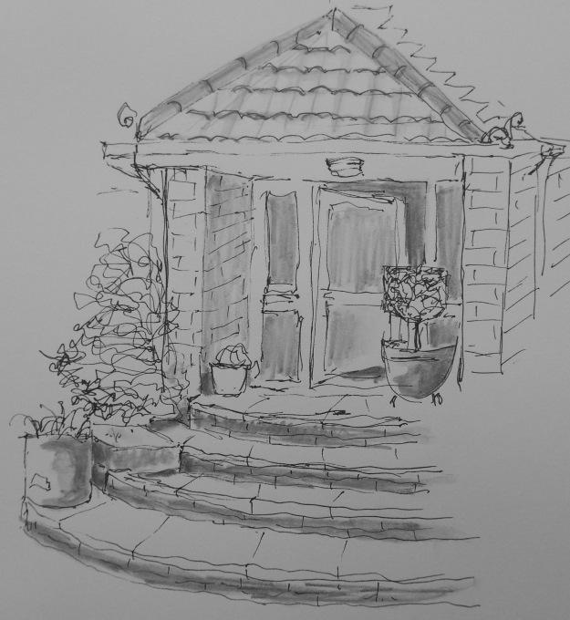 245 Front door steps