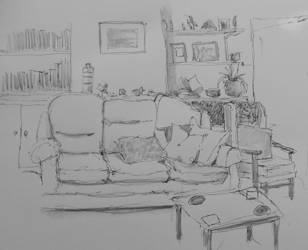 247 Empty Sofa