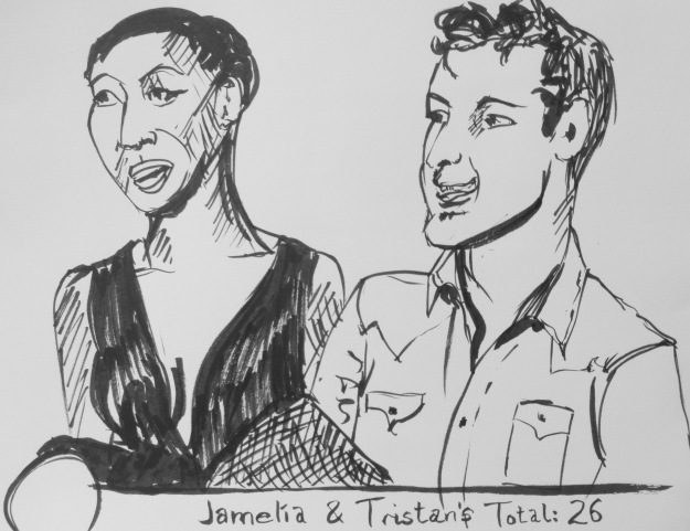 321 Jamelia and Tristan