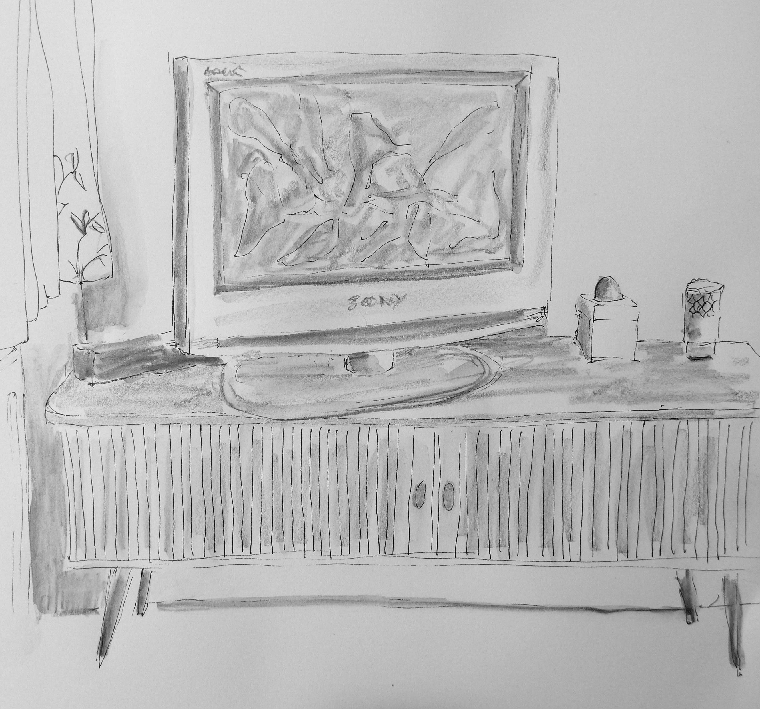 332 Watching TV