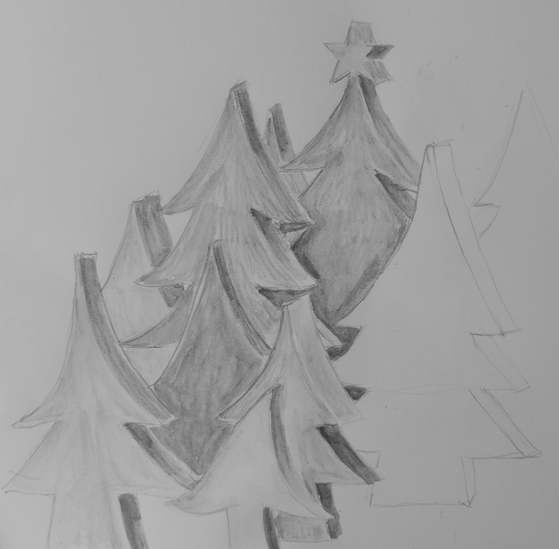 350 Christmas Trees